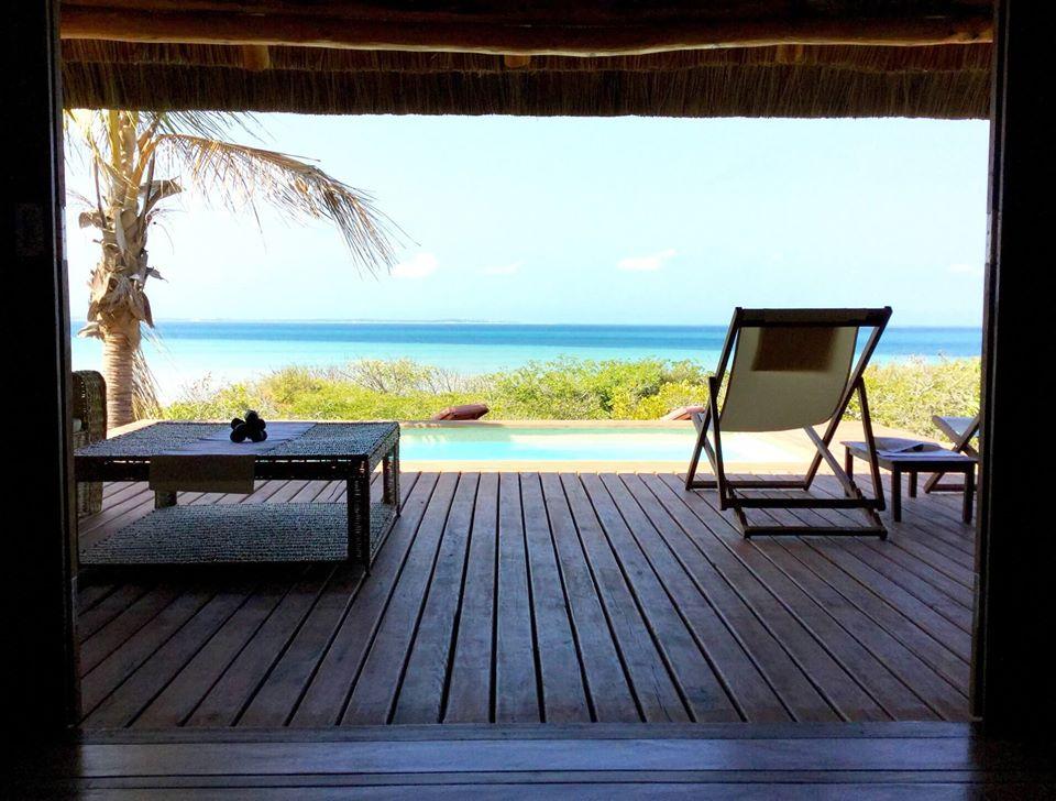 hotel com vista em moçambique