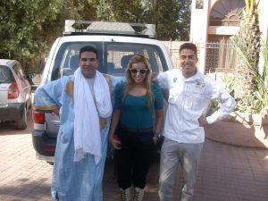 Guias de marrocos com pessoa